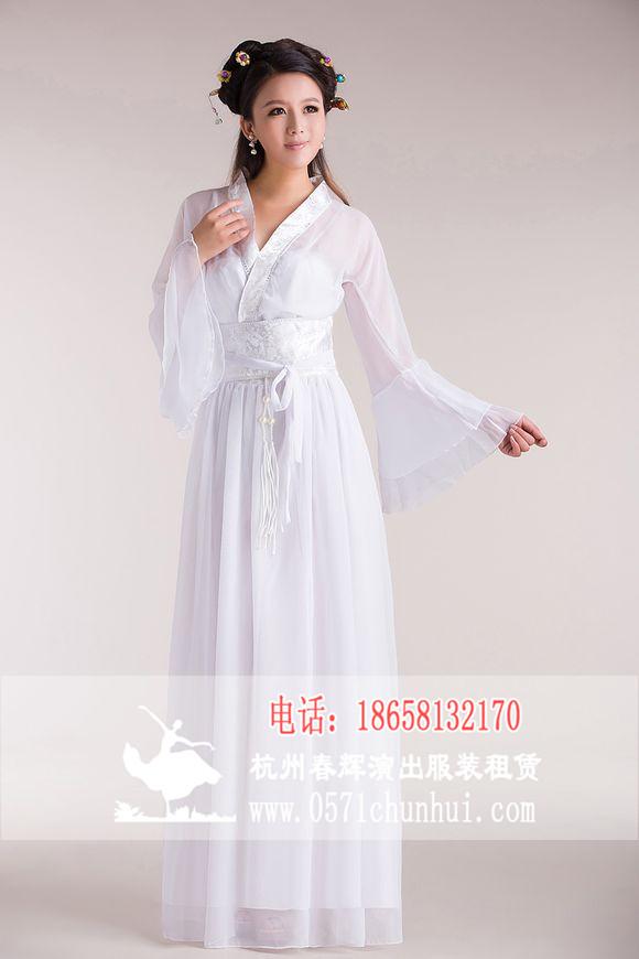 高档女装_女汉服古装 七仙女服装 古筝演出服 伴娘服装 白色-女影视古装 ...