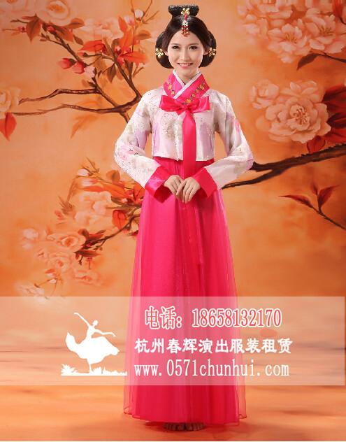 古装服装女韩服朝鲜族服装大长今舞蹈