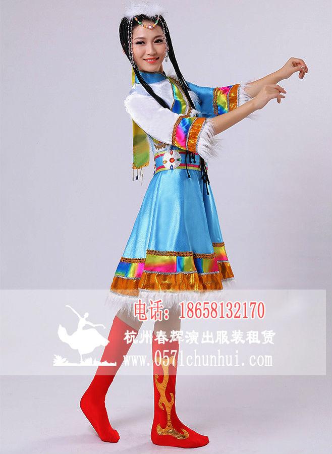 藏族舞蹈服装 女款